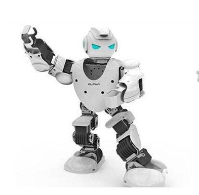 阿里推出一款新的人工智能机器人,有点未来风格的合金蛋状机器人