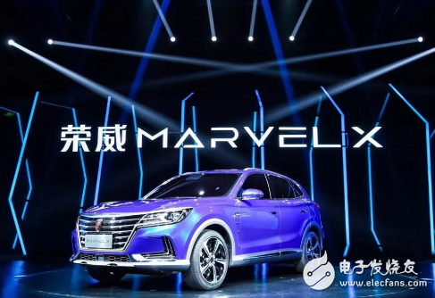 上汽发布全球第一款量产智能汽车,荣威MARVEL...