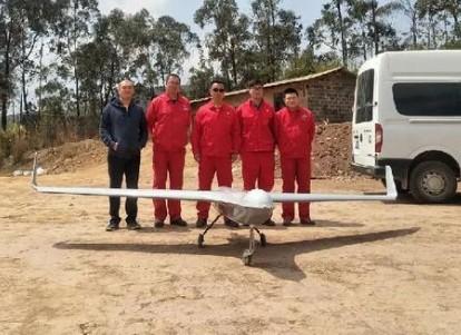 利用无人机巡线石油管道