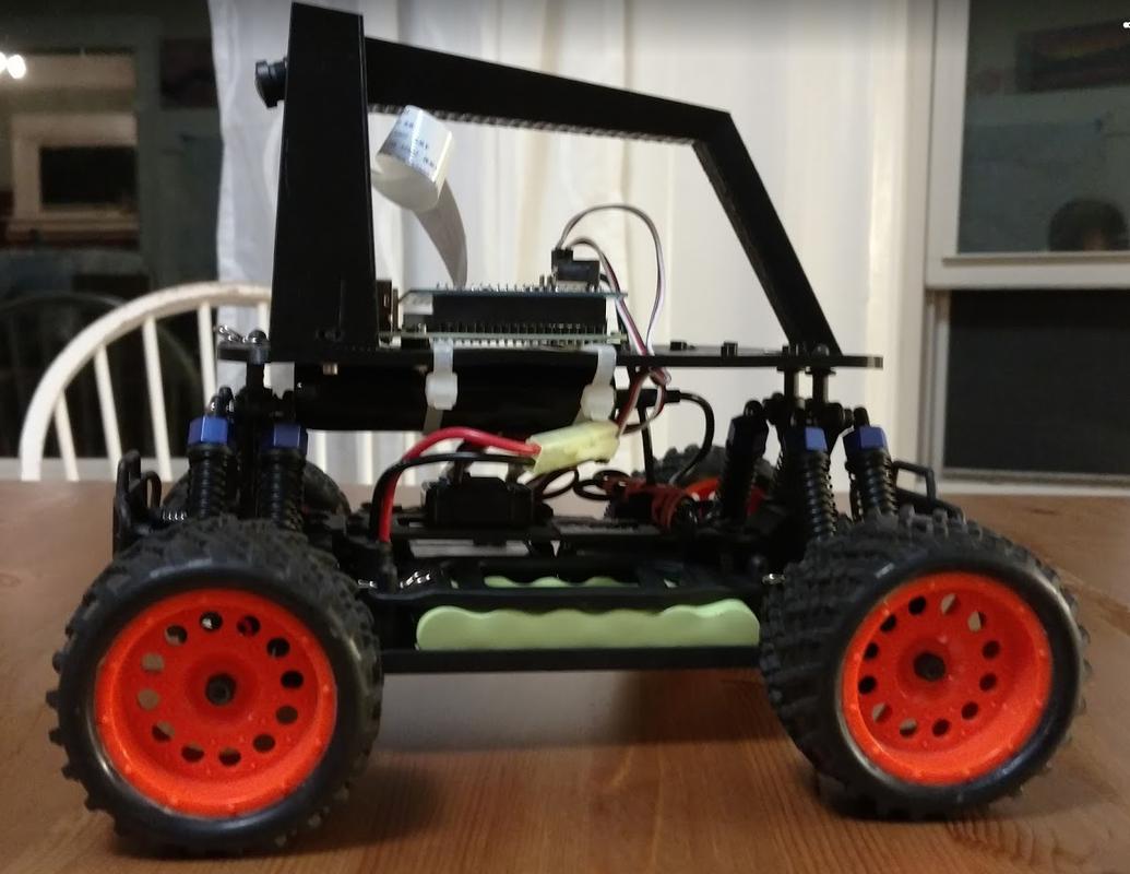 树莓派自动驾驶:使用 Keras 与 Tensorflow 构建车道跟踪自动汽车