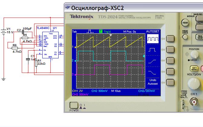 TL494的Multisim仿真模型详细资料免费下载