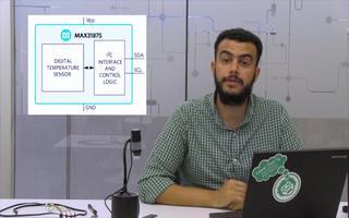 如何使用MAX31875温度传感器在便携式项目中测量温度