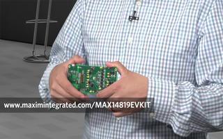 MAX14819双通道IO-Link主机收发器的特点与应用