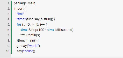 GO语言:简单 动态