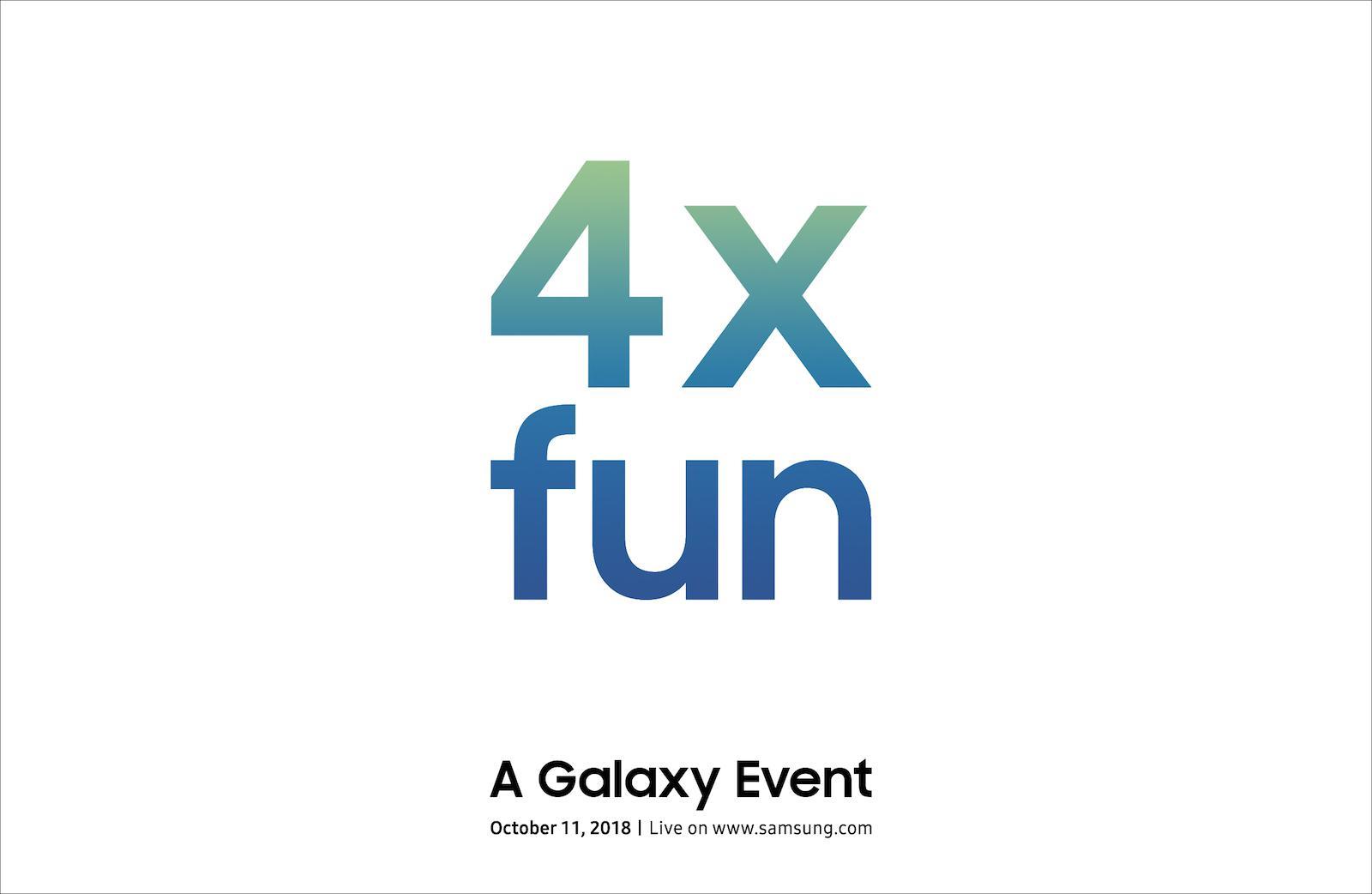 三星将于10月11日发布Galaxy新机 或是折叠屏幕手机?