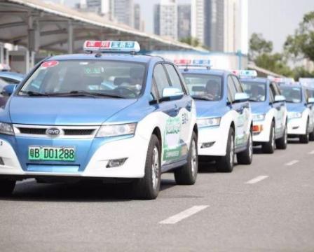深圳巴士集团在新能源汽车推广上走过八年,目前终于实现了出租车100%电动化