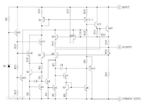 集成稳压器CW7805和LM317的区别