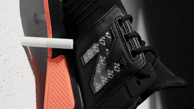 索尼与NewBalance合作 或将跑鞋与电子纸...