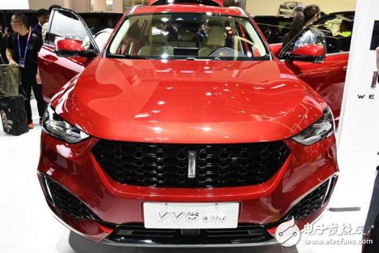 长城汽车发布了一款紧凑型SUV,高配置强动力吸引...