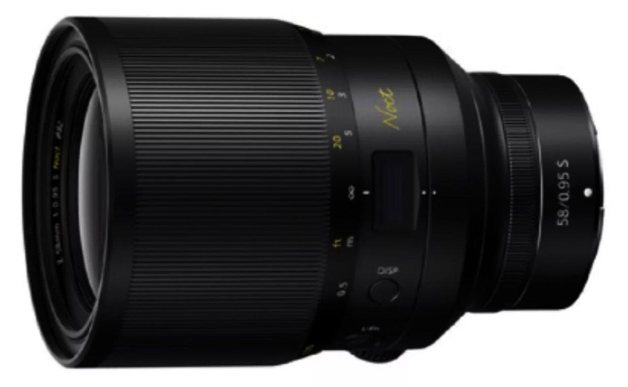 尼康正开发Z-Noct58mmf/0.95镜头 将带来更锐利的成像