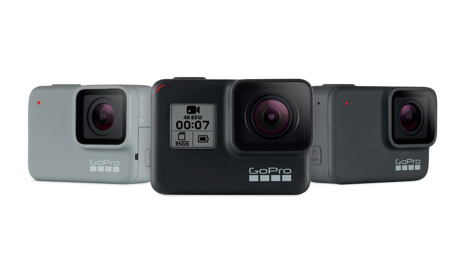 GoPro7系列正式发布 最低售价1498元