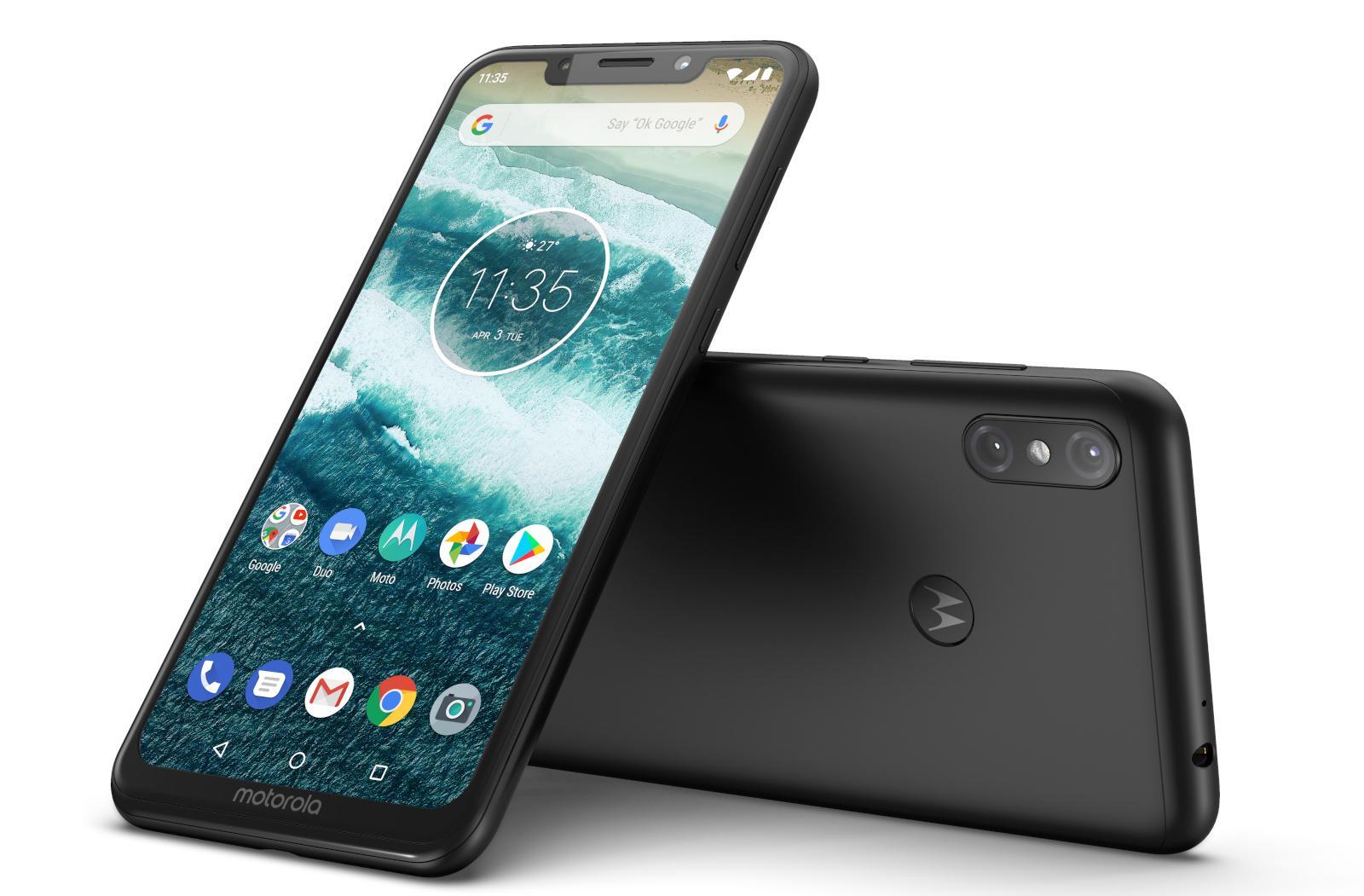 摩托羅拉兩款AndroidOne新機亮相 并承諾會升級至AndroidPie