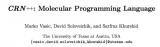 一個將CRN++程序翻譯成化學反應的編譯器。