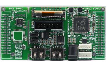 STM32F4VE单片机核心板原理图和封装库的详细资料免费下载