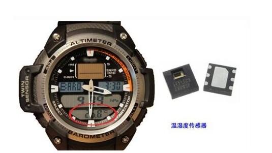 浅析在智能运动手表中应用到的传感器