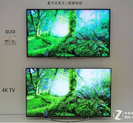 中国市场上OLED和QLED电视各有优势,电视厂...