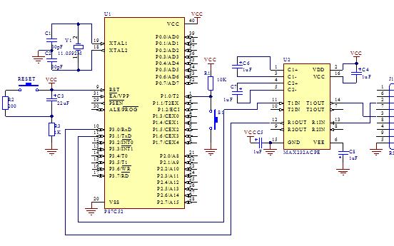 51单片机与PC的摩尔斯码通信实验报告