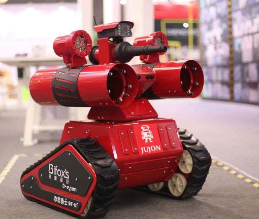 我国消防机器人研发虽然取得了一定成果,但技术限制...