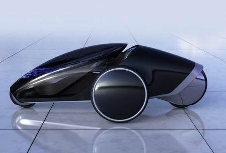 雷诺公布一款机器人概念车 可为用户提供高端的出行...