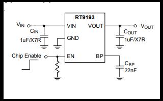 RT9193超高速CMOS LDO稳压器的详细数据手册免费下载