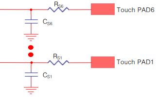 TS06 6通道自校准电容式触摸传感器的详细数据手册免费下载
