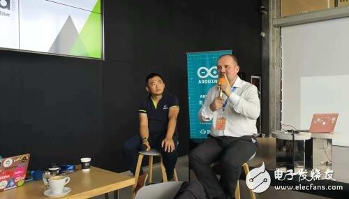 重返中国 Arduino联合创始人深圳创客周发三点寄语