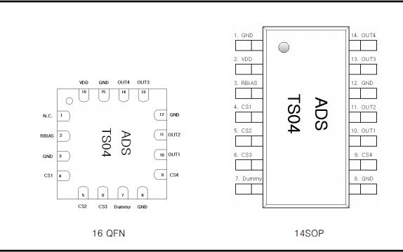 TS04 四通道自校准电容式触摸传感器的详细数据手册免费下载