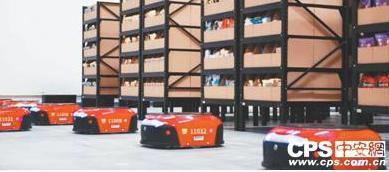 国美AGV机器人投入使用,作业时间整体缩短近30...