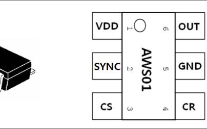 AWS01 1-CH差动灵敏度电容式触摸传感器的数据手册免费下载