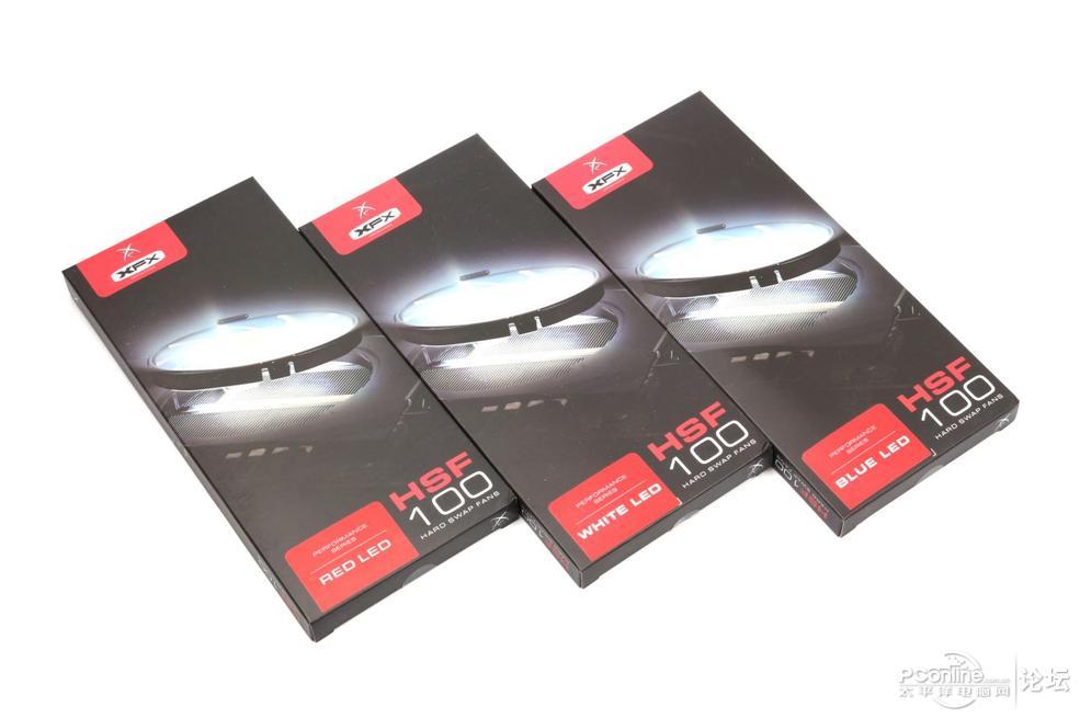 讯景HSF100显卡风扇评测 外形酷炫更实用