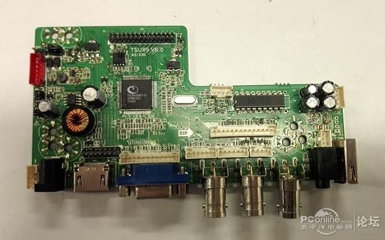 自带后备电源的便携显示器diy图解