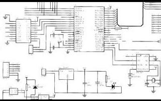 自建ISP编程器的DS18B20温度报警显示控制系统