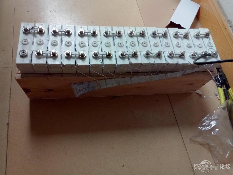 96V/50AH铁锂电+UPSdiy图解