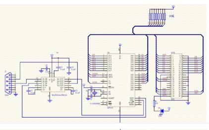 如何使用51单片机制作硬盘控制电路?包括控制电路和程序