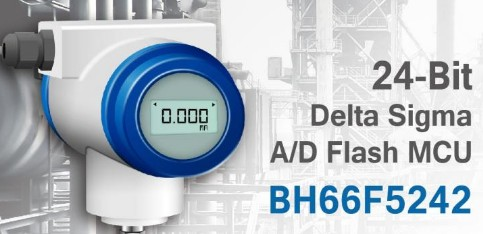 Holtek推出Flash MCU BH66F5...