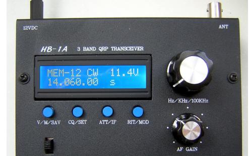 HB-1A型三波段CW-QRP收发信机使用说明书和资料免费下载