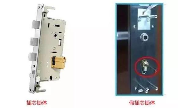 智能锁真假插芯的区别与智能门锁挑选