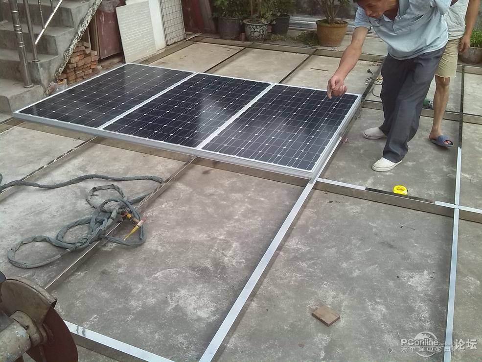 自制太阳能发电站详细过程