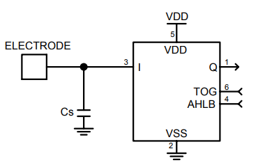 TTP223N-HA6 1键触摸板检测器集成电路数据手册免费下载