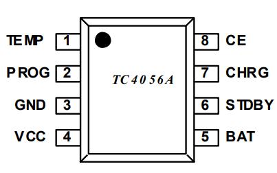 TC4056A 1A线性锂离子电池充电器的详细数据手册免费下载