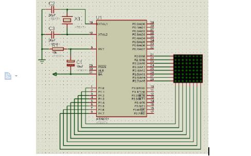 8X8点阵屏显示原理是怎样的?及C程序代码资料免费下载