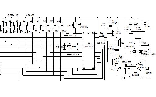 如何使用单片机制作多功能莫尔斯码电路?