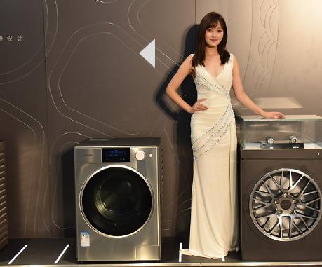 松下ALPHA阿尔法洗衣机亮相,融入了高级跑车元素的外观设计惊艳众人