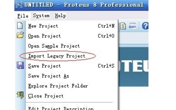 如何使用proteus 8.0打开低版本的澳门威尼斯手机版