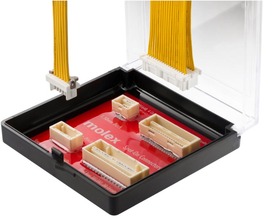 Molex推基于SMT封裝的Spot-On連接器系統 可用的電路數量多達36個