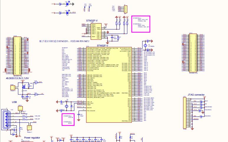 STM32F207V开发板原理图大全详细资料免费下载