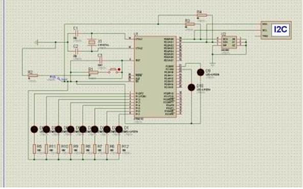 使用單片機AT24C04進行LED顯示的程序免費下載