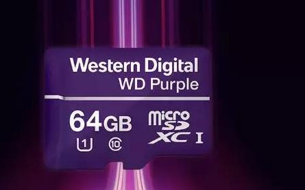 西部数据针对视频监控 打造监控移动存储卡