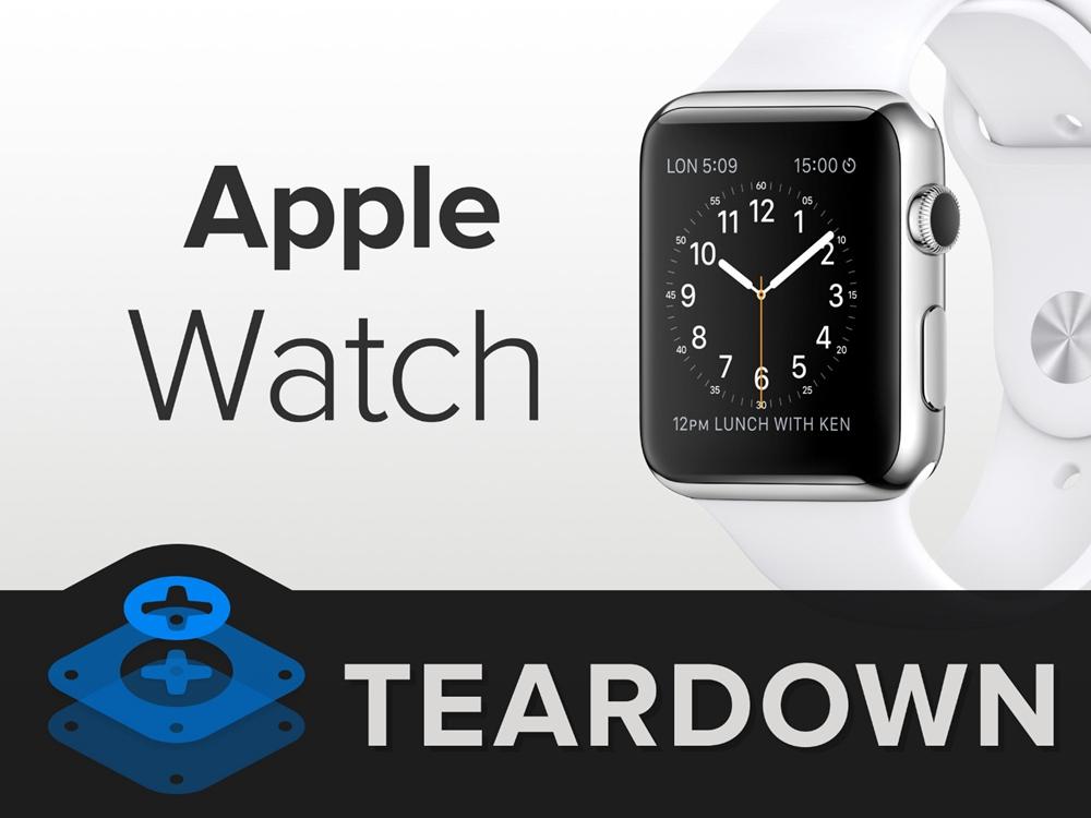 AppleWatch高清拆解图集