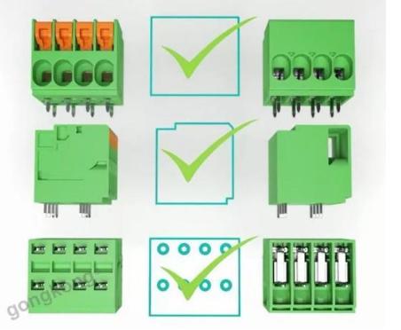 菲尼克斯電氣結合客戶的實際需求推出了TDPT系列固定式連接器
